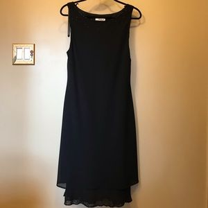 Special occasion black dress - size 16P